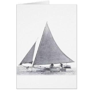 Chesapeake Bay Skipjack Card