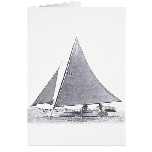 Chesapeake Bay Skipjack Greeting Cards