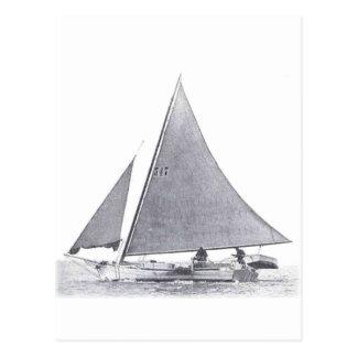 Chesapeake Bay Skipjack Postcard