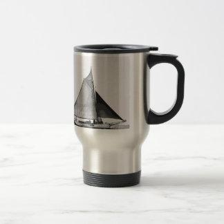 Chesapeake Bay Skipjack Sailboat Travel Mug