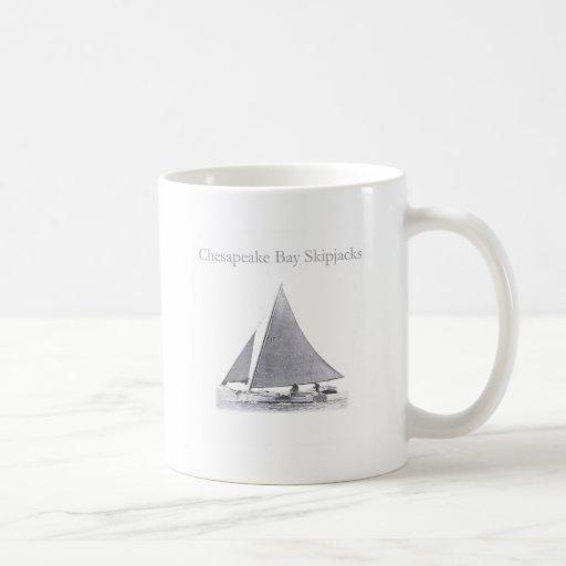 Chesapeake Bay Skipjacks Classic White Coffee Mug