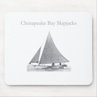 Chesapeake Bay Skipjacks Mouse Pad