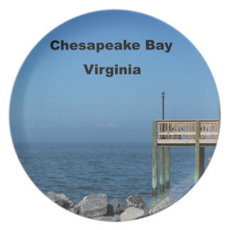 Chesapeake Bay - Virginia Dinner Plate
