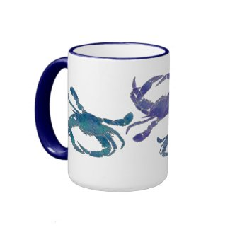 Chesapeake Blue Crabs mug