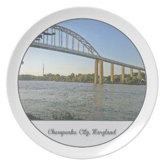 Chesapeake City, Maryland Plate