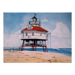 """Chesapeake Lighthouse"" poster art"
