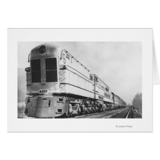 "Chesapeake & Ohio Railroad ""500"" Locomotive Card"