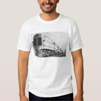 "Chesapeake & Ohio Railroad ""500"" Locomotive T Shirt"