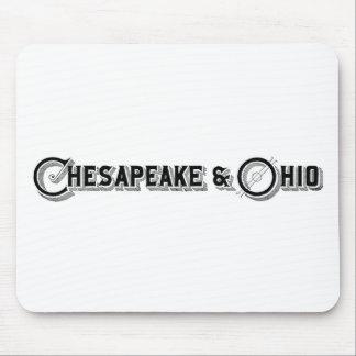 Chesapeake & Ohio Railroad Logo ca.1897 Mouse Pad
