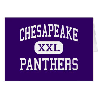 Chesapeake - Panthers - High - Chesapeake Ohio Card