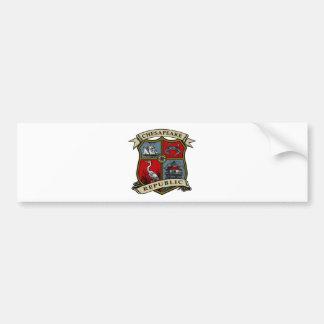 Chesapeake Republic Bumper Sticker