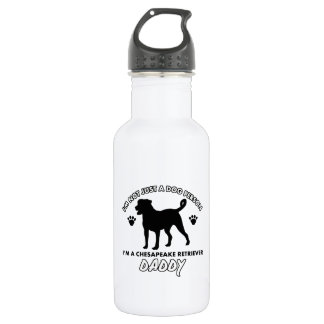 chesapeake retriver dog Dog Daddy Water Bottle