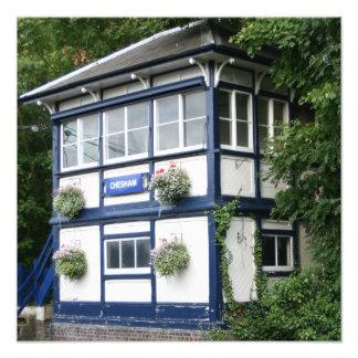 Chesham signal box,  Buckinghamshire, UK Photographic Print