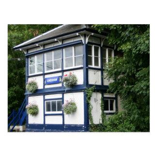 Chesham signal box, Chesham, Buckinghamshire, UK Postcard