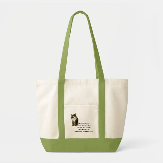 Cheshire Books Tote Bag