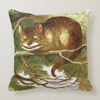 Cheshire Cat 2 Throw Pillow
