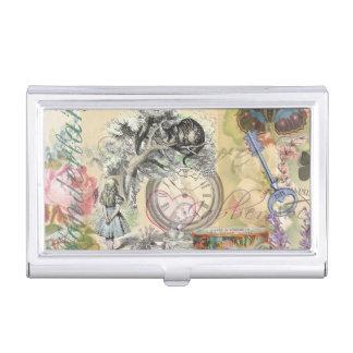 Cheshire Cat Alice in Wonderland Business Card Case