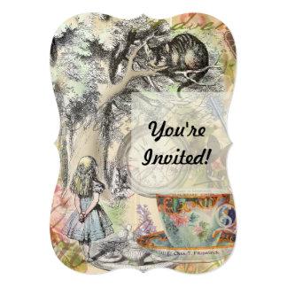 Cheshire Cat Alice in Wonderland Card