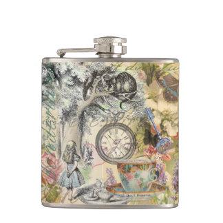 Cheshire Cat Alice in Wonderland Flasks