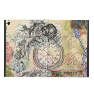 Cheshire Cat Alice in Wonderland iPad Air Cover