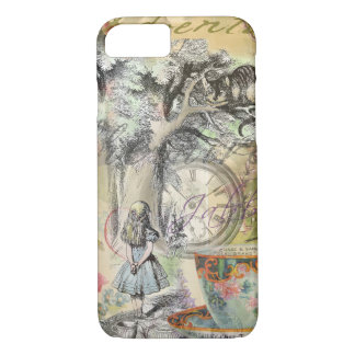 Cheshire Cat Alice in Wonderland iPhone 8/7 Case
