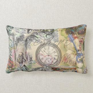 Cheshire Cat Alice in Wonderland Lumbar Pillow