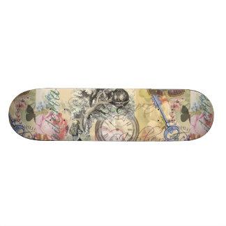 Cheshire Cat Alice in Wonderland Skateboard