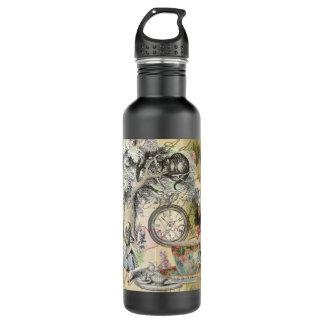 Cheshire Cat Alice in Wonderland Water Bottle