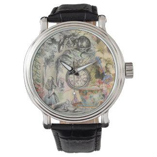 Cheshire Cat Alice in Wonderland Wrist Watches