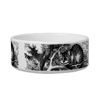 Cheshire cat and Alice's Adventures in Wonderland Bowl