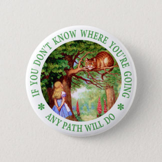 CHESHIRE CAT - ANY PATH WILL DO BUTTON