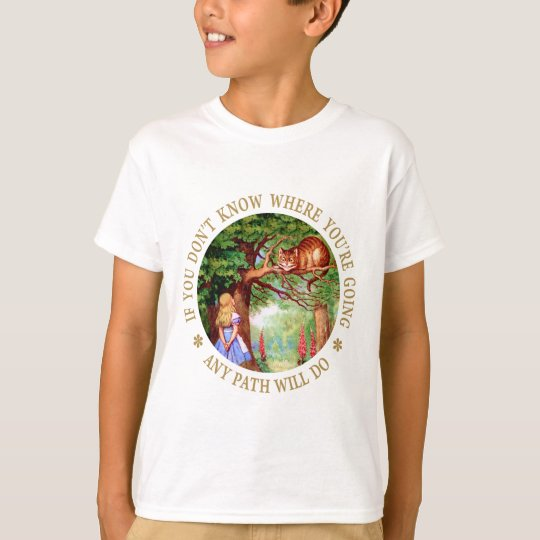 CHESHIRE CAT - ANY PATH WILL DO T-Shirt
