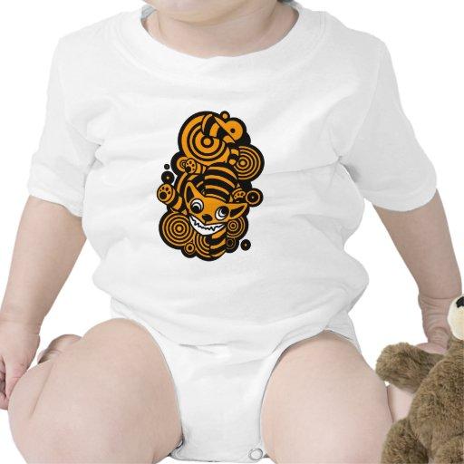 Cheshire_Cat Baby Bodysuit