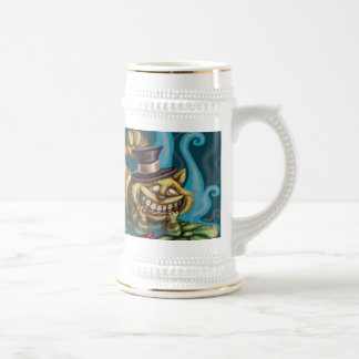 Cheshire Cat Beer Stein