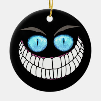 Cheshire Cat - Blue Eyes Ornament