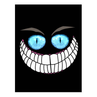 Cheshire Cat - Blue Eyes Post Card