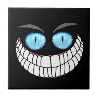 Cheshire Cat - Blue Eyes Tile