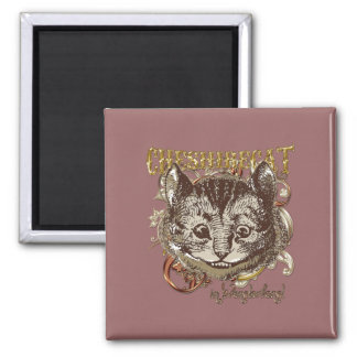 Cheshire Cat Carnivale Style (Gold Version) Magnets