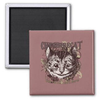 Cheshire Cat Carnivale Style Fridge Magnet