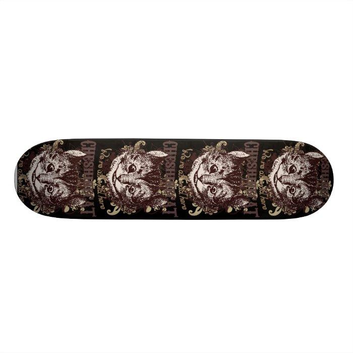 Cheshire Cat Carnivale Style Skateboard