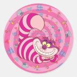 Cheshire Cat Classic Round Sticker