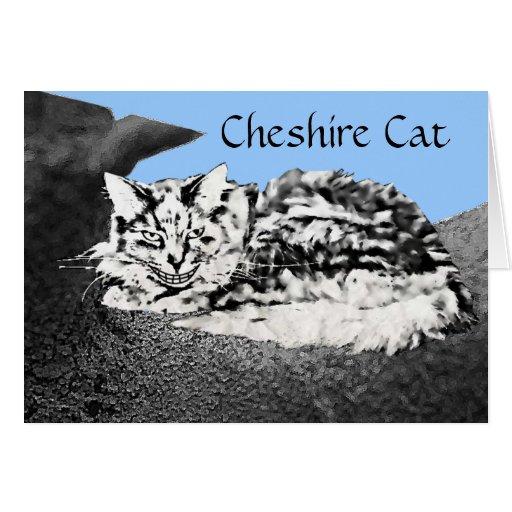 Cheshire Cat Congratulations Card