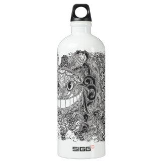 Cheshire Cat Design Water Bottle