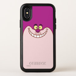 Cheshire Cat Face 3 OtterBox Symmetry iPhone X Case