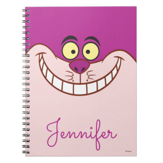 Cheshire Cat Face - Personalized Notebook