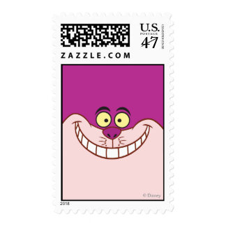 Cheshire Cat Face Postage