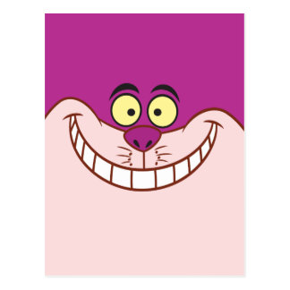 Cheshire Cat Face Postcard