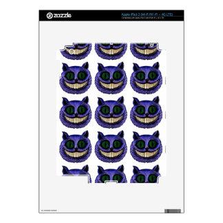 CHESHIRE CAT HEAD (Alice in Wonderland) ~ iPad 3 Decals