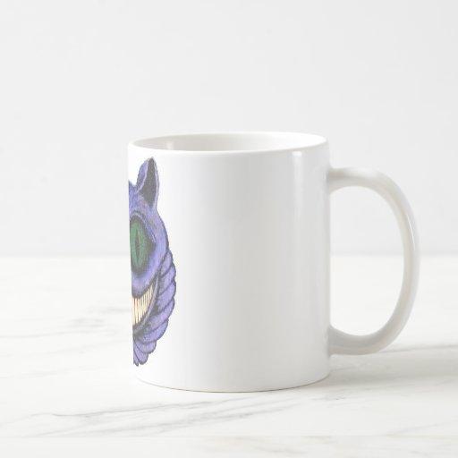 CHESHIRE CAT HEAD (design 1) Mugs