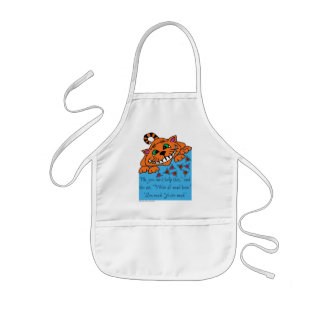 Cheshire Cat I'm Mad - Alice in Wonderland Kids' Apron